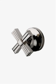Boulevard Volume Control Valve Trim with Metal Cross Handle STYLE: BDVC47