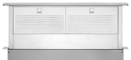30-Inch Retractable Downdraft System with Interior Blower Motor - stainless_steel
