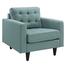 Empress Upholstered Fabric Armchair in Laguna Product Image