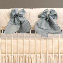 Serafina Crib Rail Cover Cream