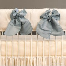 Serafina Crib Rail Cover Cream