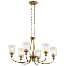 Waverly Collection Waverly Oval 6 Light Chandelier NBR
