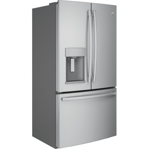 GE® 22.2 Cu. Ft. Counter-Depth French-Door Refrigerator