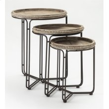 Lowley Nesting Tables - Set of 3