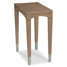 Crescent Chairside Table
