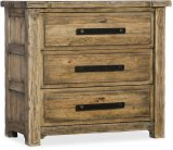 Roslyn County Three-Drawer Nightstand Product Image