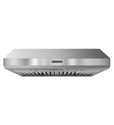KitchenAid® 36'' Under-the-Cabinet 600 CFM Commercial-Style - Stainless Steel Product Image