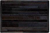 Prairie Pra1 Blk Rectangle Rug 27'' X 18''