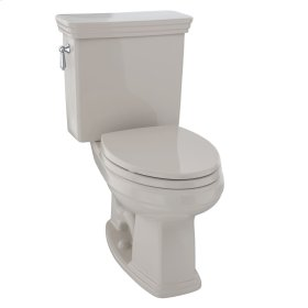 Eco Promenade® Two-Piece Toilet, 1.28 GPF, Elongated Bowl - Bone