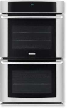 """30"""" Electric Double Wall Oven with Wave-Touch Controls"""