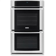 "30"" Electric Double Wall Oven with Wave-Touch Controls"