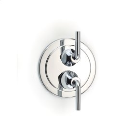 Polished Chrome River (Series 17) Dual Control Thermostatic with Diverter and Volume Control Valve Trim