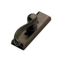 Rectangular Tilt & Turn Window Escutcheon - EW108 Silicon Bronze Dark