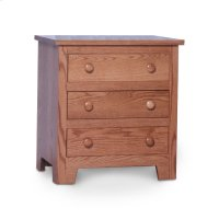 Shaker Nightstand with Drawers Product Image
