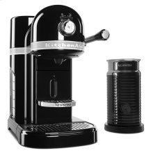 Nespresso® Espresso Maker by KitchenAid® with Milk Frother - Onyx Black