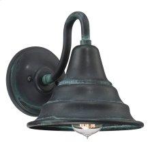 Carmel Outdoor Lantern in Aged Verde