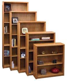 Bookcase w/ 2 adj. shelves