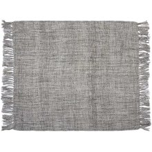 "Throw T1123 Grey 50"" X 60"" Throw Blankets"