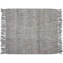 "Throw T1123 Grey 50"" X 60"" Throw Blankets"