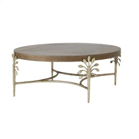 Sapling Oval Cocktail Table (Dark)