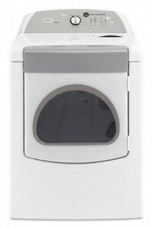 White-on-White Whirlpool® Cabrio® Steam 7.0 cu. ft. Dryer
