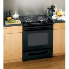 "GE® 30"" Slide-In Electric Range with Self-Cleaning Oven"
