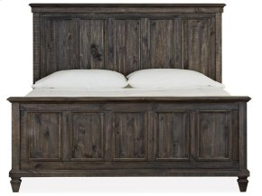 Complete Cal.King Panel Bed