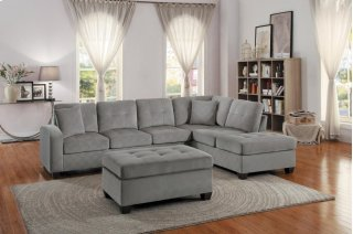 Emilio Sectional Taupe