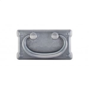 Mission Plate Pull 3 Inch (c-c) - Pewter Light