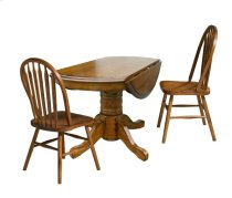 Classic Oak Solid Oak Drop Leaf Table Product Image