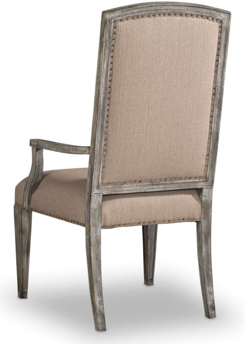 True Vintage Upholstered Arm Chair