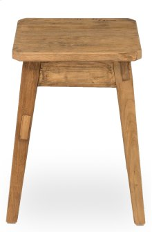 Clipped Corners Stool, Low