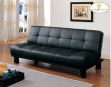 Elegant Lounger, Black Bi-Cast Vinyl