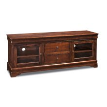Louis Philippe TV Console, 62""
