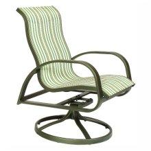 1849 High-Back Swivel Chair