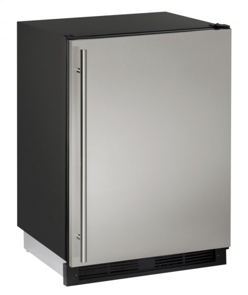 "1000 Series 24"" Combo® Model With Stainless Solid Finish and Field Reversible Door Swing (115 Volts / 60 Hz)"