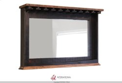 Mirror Bar w/Glass holders & Shelf Product Image