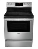 """30"""" DLX Electric Freestanding Range 500 Series - Stainless Steel HES5L53U Product Image"""