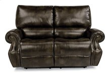 Colton Fabric Power Reclining Loveseat with Power Headrests