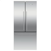 "Freestanding French Door Refrigerator Freezer, 32"", 16.9 cu ft, Ice"