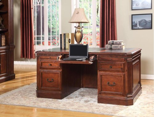 Double Pedestal Executive Desk