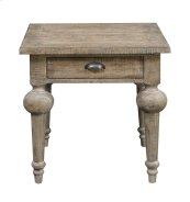 Emerald Home Interlude End Table-sandstone Finish T560-01