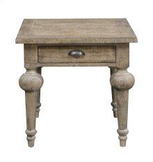 Emerald Home Interlude End Table-sandstone Finish T560-01