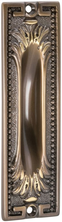 Ornate Flush Pull in (SB Shaded Bronze, Lacquered)