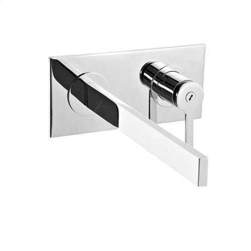 Wallmount lavatory faucet