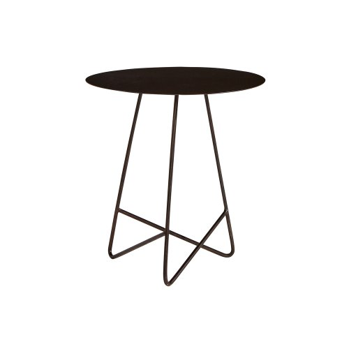 Carbon Traverse Round End Table
