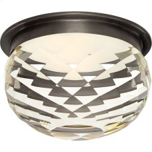 Visual Comfort S7000BZ-CG Studio Hillam LED 6 inch Bronze Flush Mount Ceiling Light