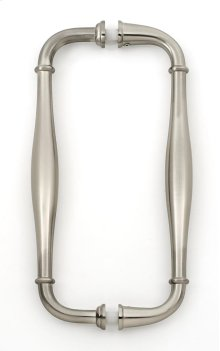 Charlie's Collection Back-to-Back Pull G726-8 - Satin Nickel