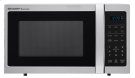 0.9 cu. ft. 900W Sharp Stainless Steel Carousel Countertop Microwave Oven (SMC0912BS) Product Image