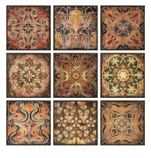 Tuscan Wall Panels - Set of 9